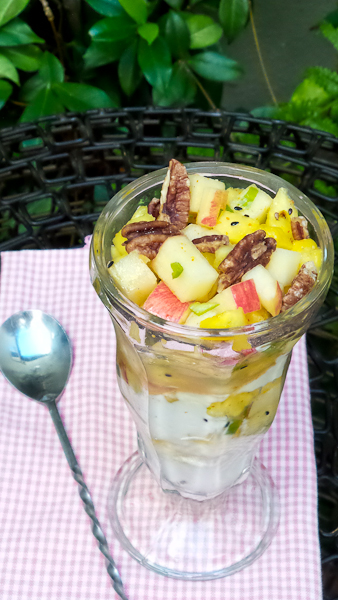 Pineapple Honeycrisp Apple Parfait