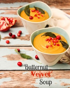 Butternut Velvet Soup, blender soups