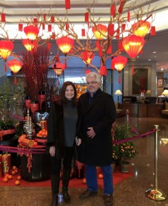 Chinese New Year greeting from Shanghai