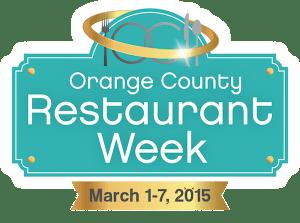 Orange County Restaurant Week 2015