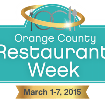 Orange County Restaurant Week 2015
