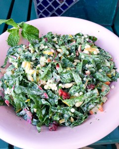 Rainbow Chard and Couscous Salad-