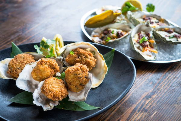 Fried Oyster Bombs, SOL Cocina