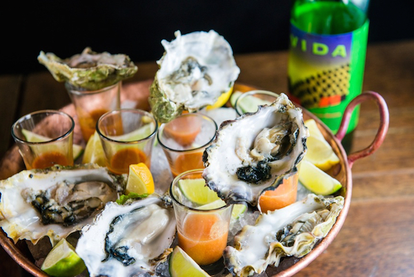 Fresh Oysters, Oyster Shots