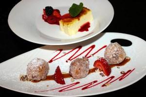 Cheesecake Stuffed Beignets, Scott's Restaurant & Bar