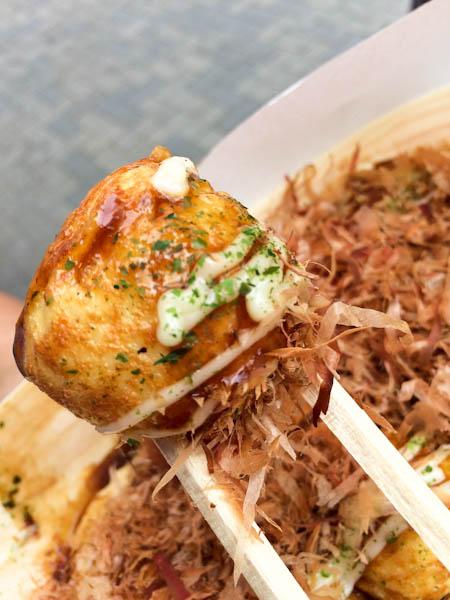 Takoyaki - Osaka street food