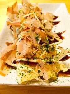 Chopstick Okonomiyaki, Japanese food