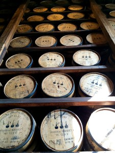 Bourbon Barrels at Woodford Reserve | ShesCookin.com