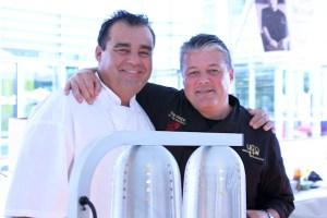 Chefs Rainer Schwartz and Yvon Goetz | ShesCookin.com
