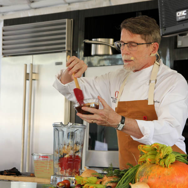 Chef Rick Bayless at Newport Beach Wine & Food Festival | ShesCookin.com