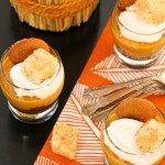 Vegan No-Bake Chocolate-Pecan Crusted Pumpkin Cheesecake | ShesCookin.com