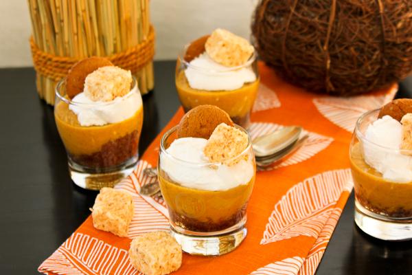 Vegan Pecan-Cacao Crusted Pumpkin Cheesecake | ShesCookin.com
