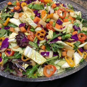 Vegetarian Asian Chopped Salad | ShesCookin.com