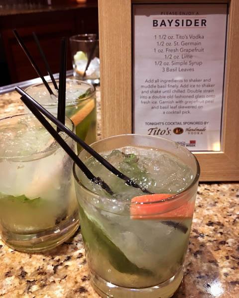 Baysider Cocktail | ShesCookin.com