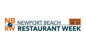 Newport Beach Restaurant Week - Jan. 18-31