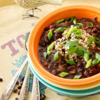 Red Beans and Rice for Mardi Gras | ShesCookin.com