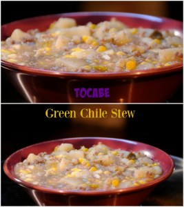 TOCABE Green Chile Stew | ShesCookin.com