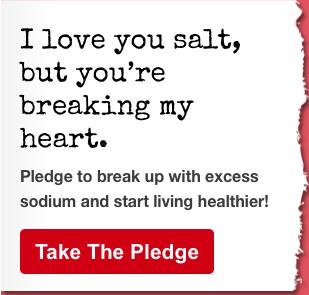 American Heart Association - Sodium Break Up