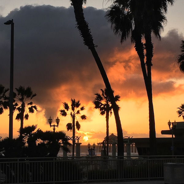 Huntington Beach Sunset | ShesCookin.com