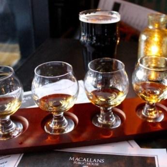 MacCallan's Irish Whiskey Flight | ShesCookin.com