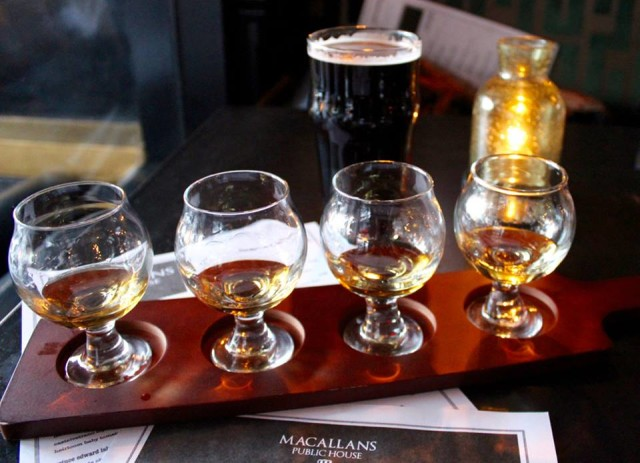 MacCallan's Irish Whiskey Flight | ShesCookin.com