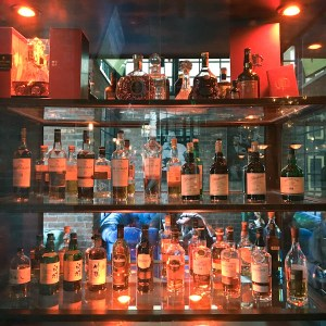 MacCallans Pub's extensive Scotch and Irish Whiskey selection   ShesCookin.com