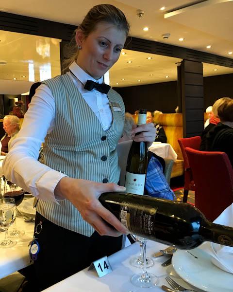 Chef's Tasting Dinner - AmaWaterways Tulip Cruise | ShesCookin.com