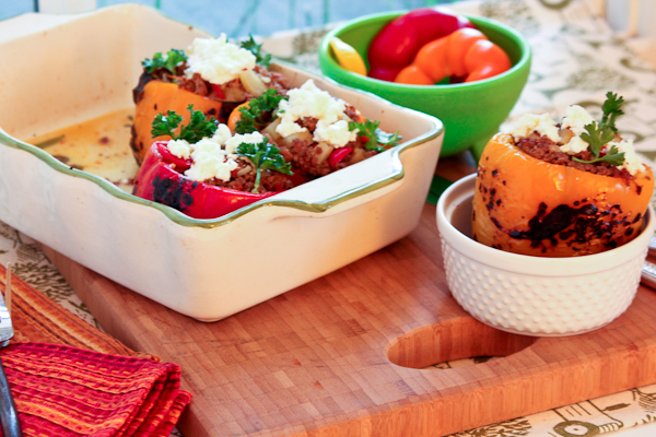 Picadillo Stuffed Peppers-3234