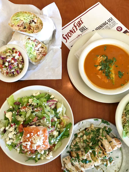 Seven for $7 Lunch Special - Stonefire Grill