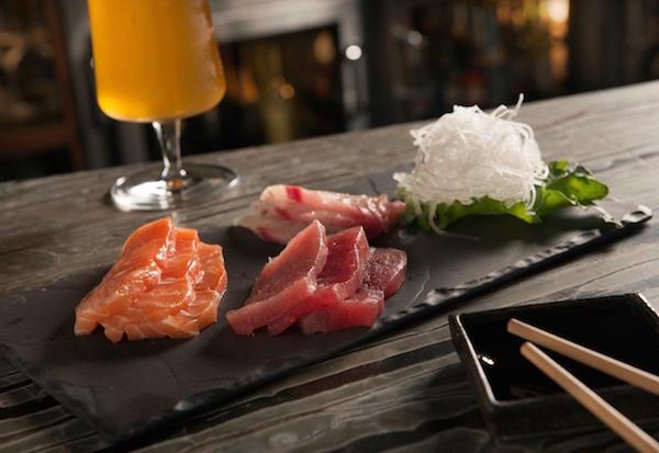 The Ritz Prime Seafood Sashimi | ShesCookin.com