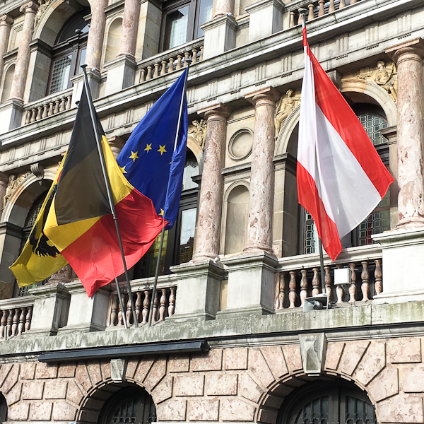 Belgium Flag - AmaWaterways Tulilp Tour | ShesCookin.com