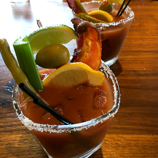 Build Your Own Bloody Mary - Del Frisco's Weekend Brunch | ShesCookin.com