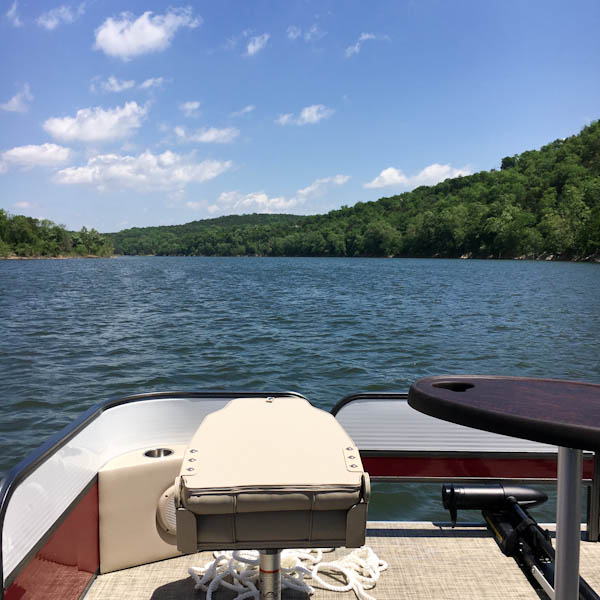 Table Rock Lake - Eureka Springs, Arkansas | ShesCookin.com