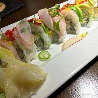 Crab Hamachi Sushi Roll - Ritz Prime Seafood | ShesCookin.com