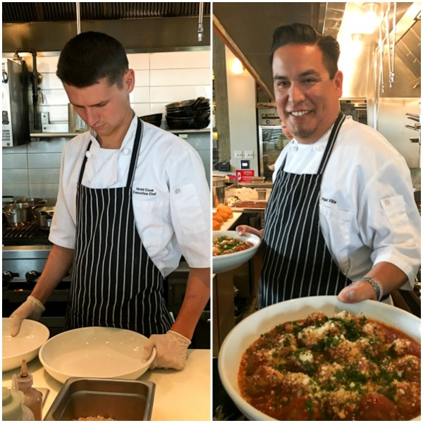 Chef Jared Cooke and Paul Villa | ShesCookin.com