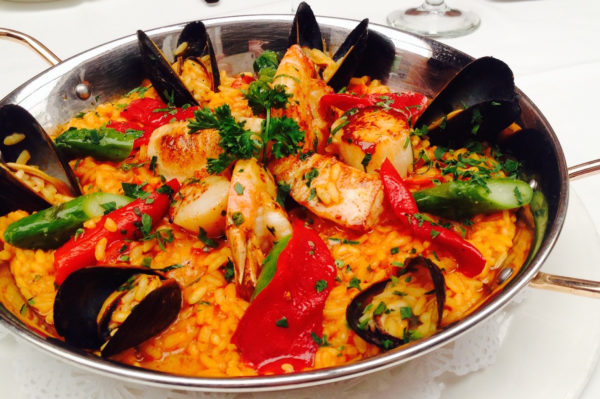 Paella Night at Bistango | ShesCookin.com