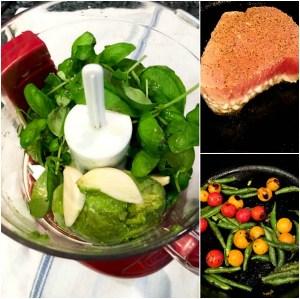 Avocado Micro Basil Pesto | ShesCookin.com