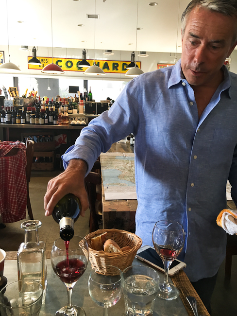 Moulin French wine tasting   ShesCookin.com