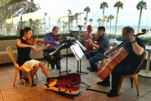 Classical Carnage - popular group plays rock and pop hits on classical instruments