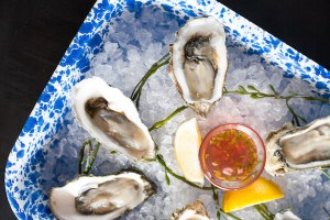 Fresh Oysters - Ways and Means, Huntington Beach ocean view dining