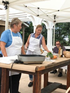 Kitchen Gardens Cooking Class with Chef Mary Platis and Chef Debbi Dubbs