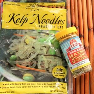 Gold Mine Kelp Noodles | ShesCookin.com