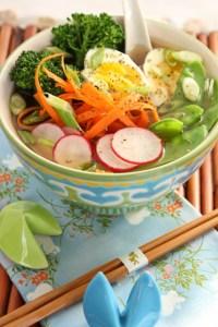 Low Carb Kelp Noodle Ramen | ShesCookin.com