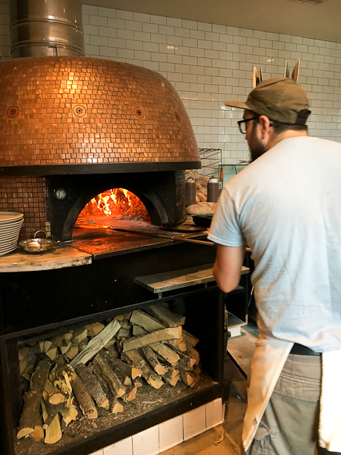 Wood-fired Napoletana or Neapolitan pizza | ShesCookin.com