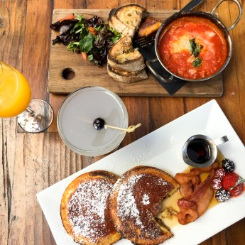 Napoletana Pizza and More at Settebello's Weekend Brunch