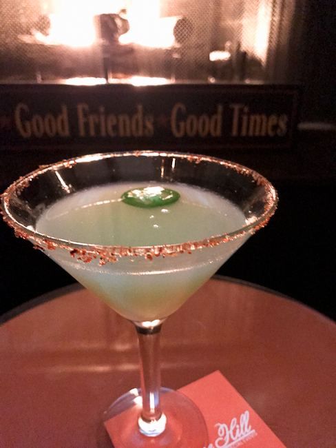 Pisco Inferno cocktail