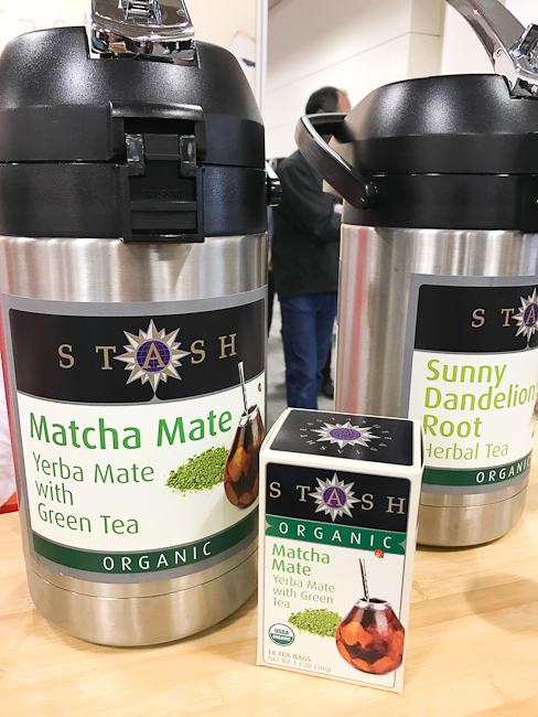 Stash Matcha Yerba Mate green tea