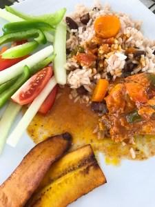 Belize- tradiitonal Belizian lunch