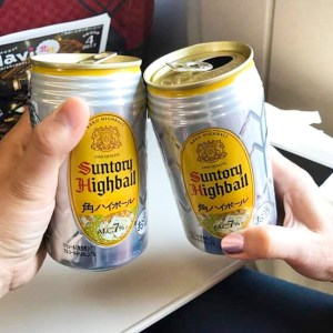 Suntory Highballs in a can | ShesCookin.com