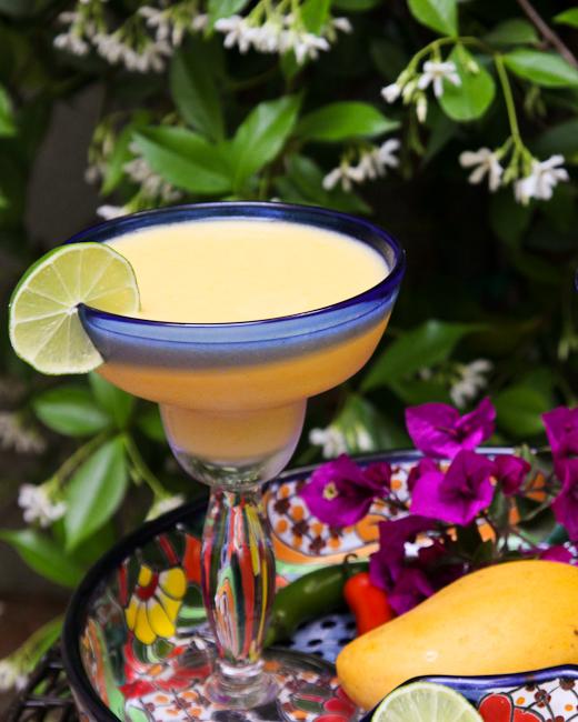 Mango Pineapple Margarita | ShesCookin.com-